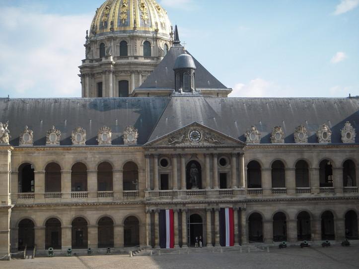 Réception annuelle de la Fondation Charles de Gaulle à l'Hôtel National des Invalides