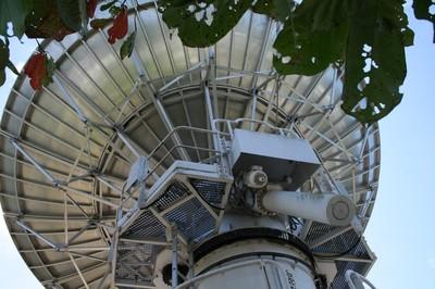 Les antennes de France Télécom Orange Mayotte à la station des Badamiers en Petite Terre (c) Emmanuel Tusevo Diasamvu