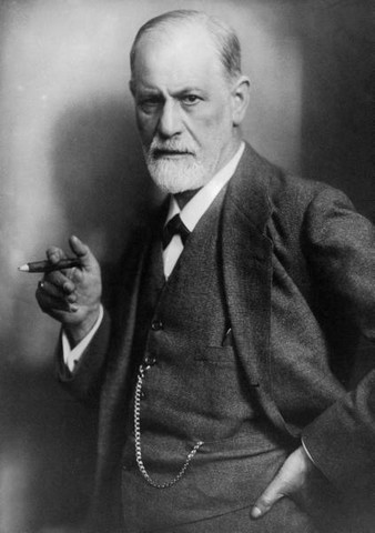 Sigmund Freud en 1922, photo de Max Halberstadt (1882-1940)