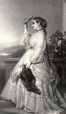 Mary Victoria Hamilton, princesse de  Monaco. Image du domaine public.