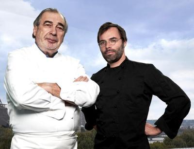 Marc Meneau et Gilles Stassart a Haute Cuisine Paris