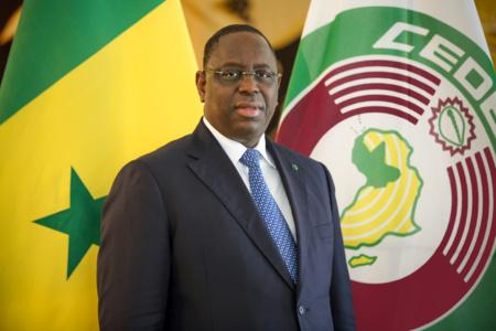 Macky Sall réélu président du Sénégal dès le premier tour (c) www.presidence.sn