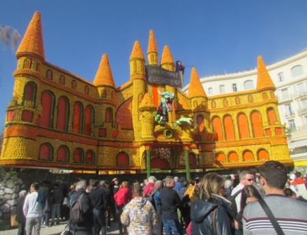 Ouverture de la fête du citron le samedi 16 Février. Photo (c) Pascale Luissint