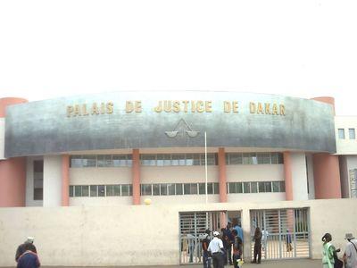 Palais de justice de Dakar (C) Elhadji Babacar MBENGUE