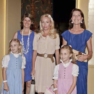 L'inauguration de l'exposition a eu lieu en présence de SAR la Princesse Caroline de Monaco. Photo (c) Marco Piovanotto