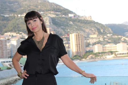 Mathilda May, représentante française du Jury. Photo (c) Serge Gloumeaud