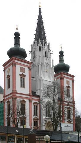 Basilique de Mariazell (c) Papiermond en avril 2005