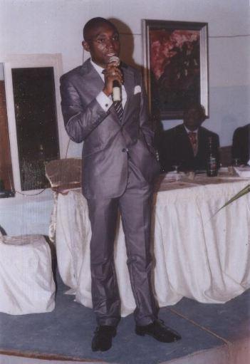 Martin Kuonedji, l'auteur du dossier d'investigation sur les Eglises réveillées. Photo courtoisie