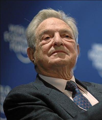 George Soros au Centre des Congrès le 27 janvier 2010, lors du Forum de Davos (c) Sebastian Derungs