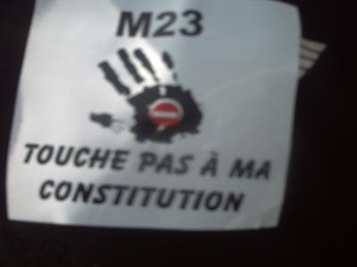 Poster du mouvement du 23 juin (C) Elhadji Babacar MBENGUE