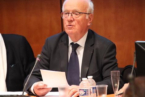 Le Président sortant, Gérard Bardy. Photo (c) Erick Salemon Bassene