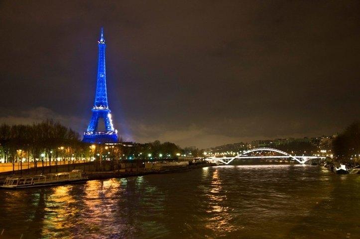 L'étoile bleue ! Photo (C) Ibrahim Chalhoub