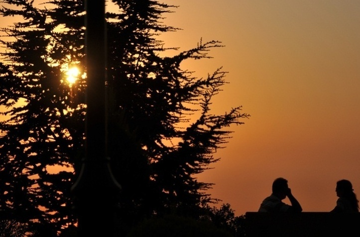 Toi, moi, et le soleil ! Photo (C) Ibrahim Chalhoub