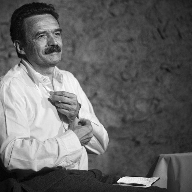 Edwy Plenel : animateur et témoin des Voix d'Orélans 2019. Photo (c) Xavier Malafosse