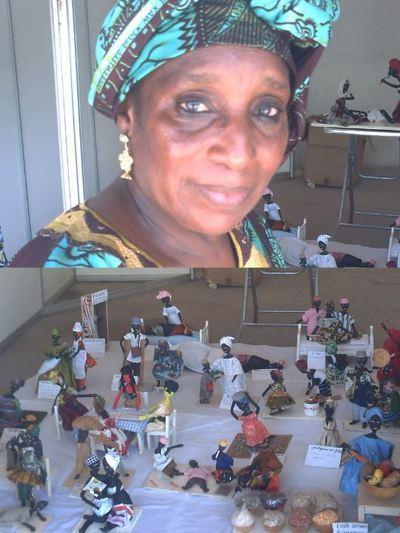 Mme Hawa Ba et ses poupées OUMY(C) Elhadji Babacar MBENGUE