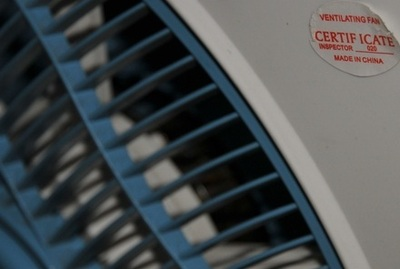 Stay cool with Chinese ventilators! Photo (C) Ibrahim Chalhoub