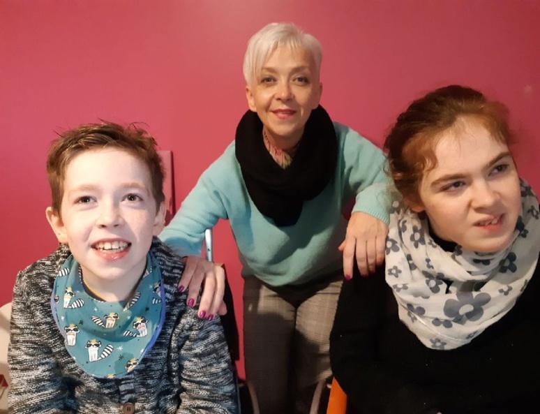 Eliot, Carole et Cloé. (c) Carole Bourdais-Savé.