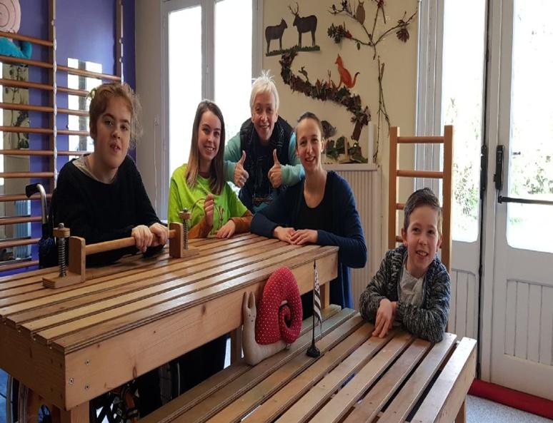 Carole Bourdais-Savé a ouvert La Maison escargot, première école conductive en Bretagne. (c) Carole Bourdais-Savé.