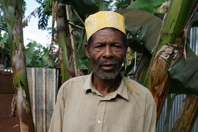 Le papa de la fillette décédée, monsieur Madi (c) Emmanuel Tusevo Diasamvu
