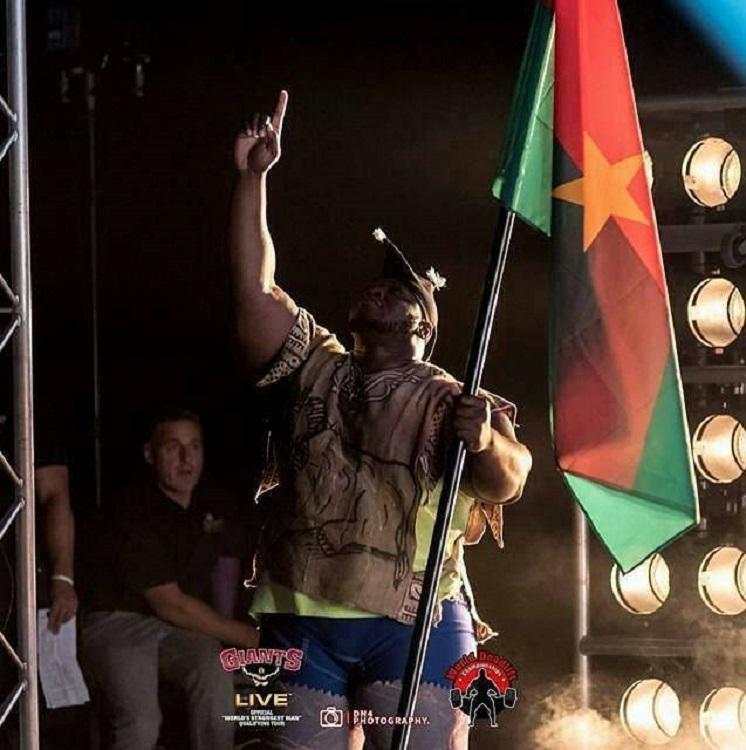Le champion du monde Iron Biby. (c) I.Biby