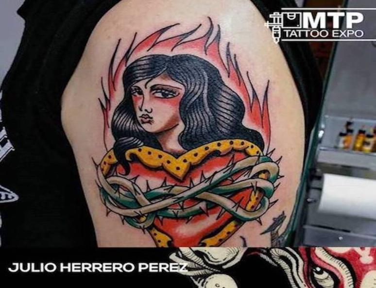 Julio Herrero Perez (c) Montpellier Tattoo Convention