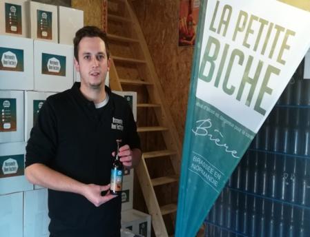 Etienne Confiant, brasseur de Normandy Beer Factory