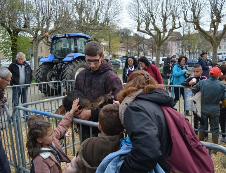 À la découverte des animaux de la ferme (c) Frédérique Gelas