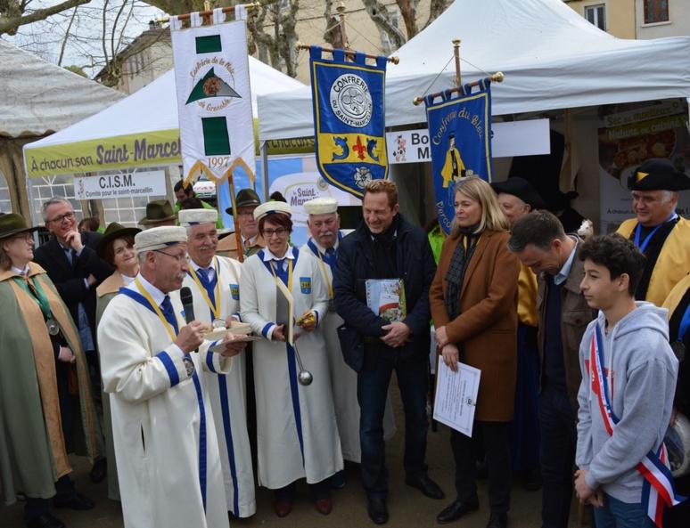 Intronisations par la Confrérie du Saint-Marcellin (c) Frédérique Gelas
