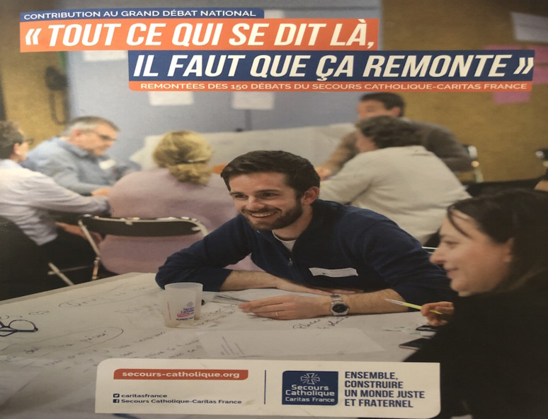Affiche Secours Catholique (c) Arsenieva Olesya