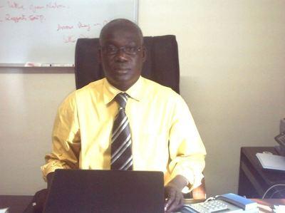 Elhadji Meïssa Diop, Directeur de l'Alphabétisation du Sénégal (C) Elhadji Babacar MBENGUE
