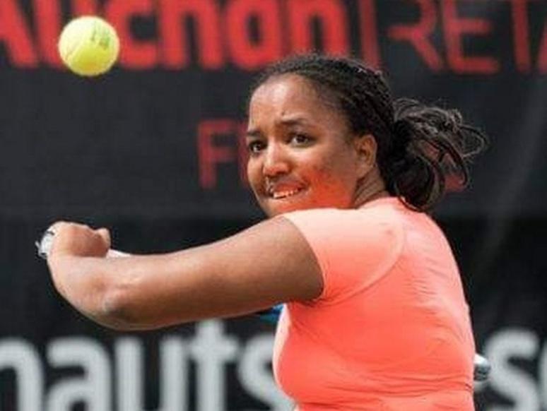 Pauline Hélouin à l'Open de France en juin 2018 (c) Alexandre Ferret