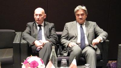 L'ambassadeur de Pologne en France, SE Tomasz Orlowski et le consul de Pologne, SE Wojciech Janowski (c) Islem Salmi