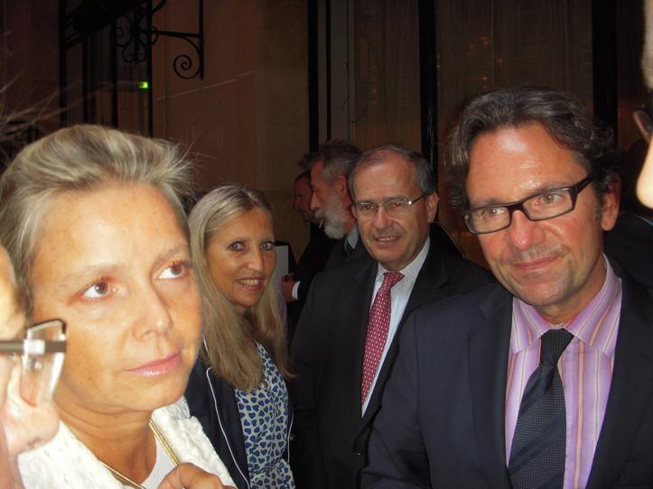 Michèle VILLEMUR, Jean-Pierre COINTREAU, Frédéric LEFEBVRE, Secrétaire d'Etat chargé du Commerce, de l'Artisanat, des PME, du Tourisme (C) Jean-Louis Courleux