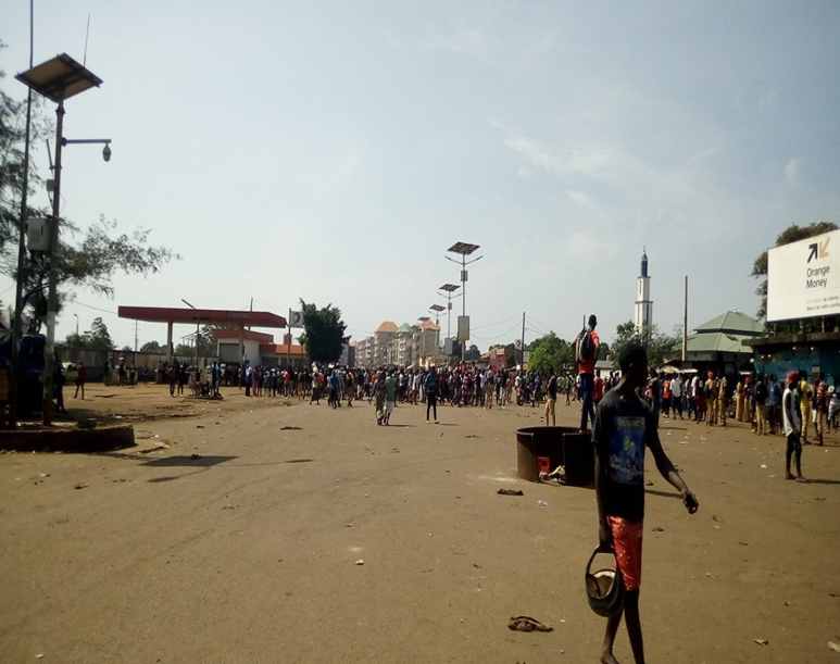 Manifestations à Conakry (c) Boubacar Barry