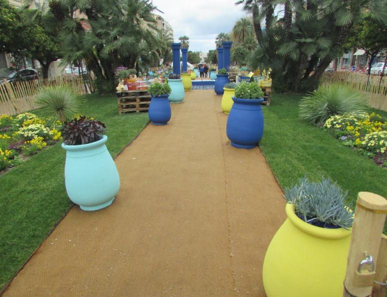 """Festival des jardins sur le thème """"Rêve de méditerranée"""" (c) Pascale Luissint"""