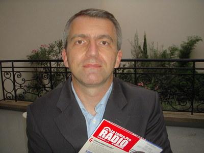 Philippe Chapot organisteur du salon Le RADIO (c) Jean Louis Courleux