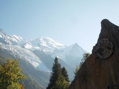 Le Mont Blanc vue de Chamonix (c) Jean-Louis Courleux