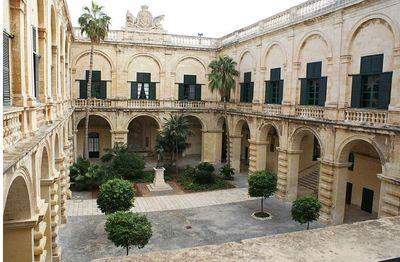 La Chambre des Représentants de la République de Malte. Photo (c) DR