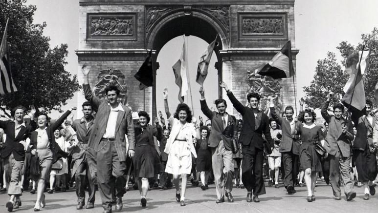 Libération de Paris, le 24 août 1945 (c) DR