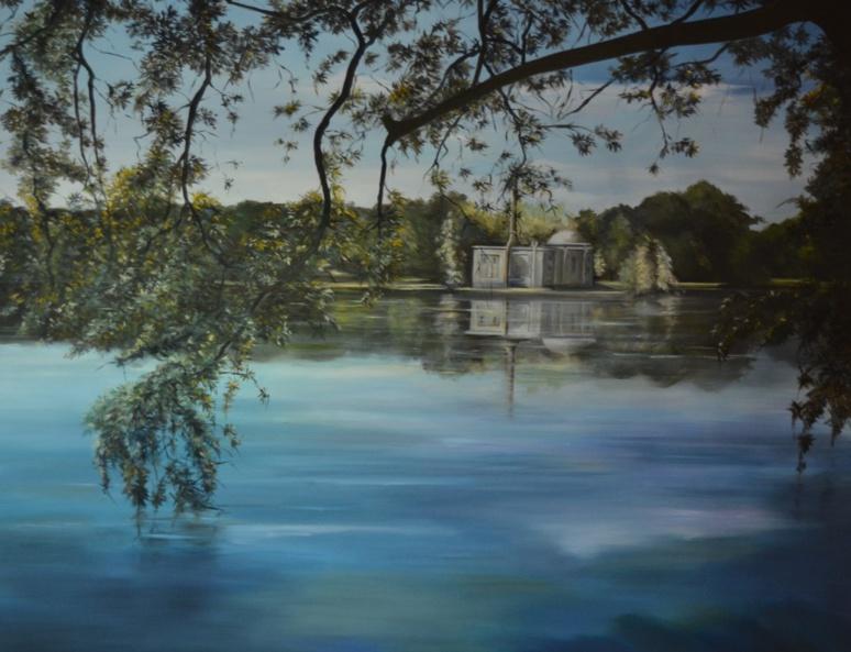 """""""Le silence du lac"""" - Élisabeth Bourgeat (c) Frédérique Gelas"""