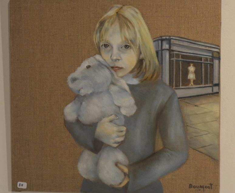 Alicia peinte par sa grand-mère - Élisabeth Bourgeat (c) Frédérique Gelas
