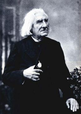 Liszt photographié par Nadar