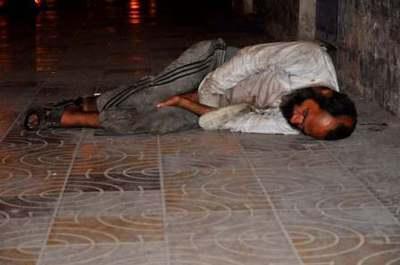 Dodo… pauvre homme! Photo (C) Ibrahim Chalhoub