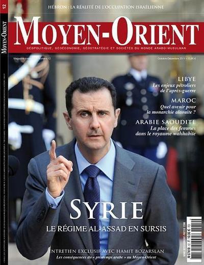 La Syrie de Bachar Al-Assad en sursis thème du magazine Moyen-Orient