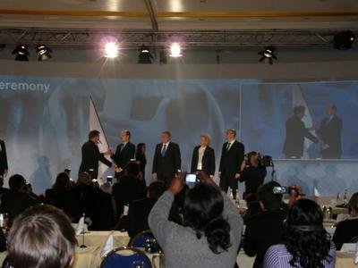 Peace and Sport, cérémonie du drapeau avec S.A.S le Prince Albert II de Monaco (c) Islem Salmi