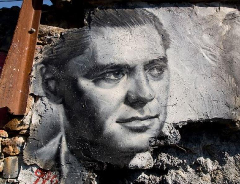 Portrait de Jean Moulin, un des plus célèbres Résistants français. Photo (c) Thierry Ehrmann, site Flickr