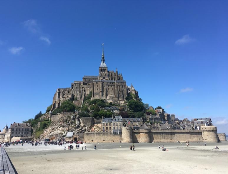 Le Mont-Saint-Michel, site classé au patrimoine mondial de l'UNESCO. Photo (c) Anne-Sophie Leroy