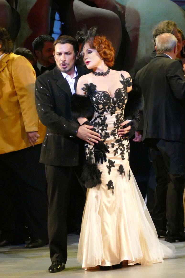 Enea Scala et Laurence Janot (c) Christian Dresse