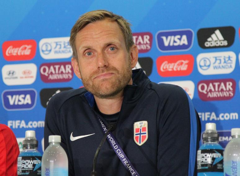 Pour Martin Sjogren, sélectionneur norvégien, son équipe est fin prête pour affronter les Bleues. Photo (c) Serge Gloumeaud