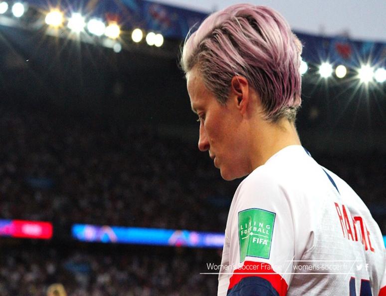 Megan Rapinoe (c) Women's Soccer France
